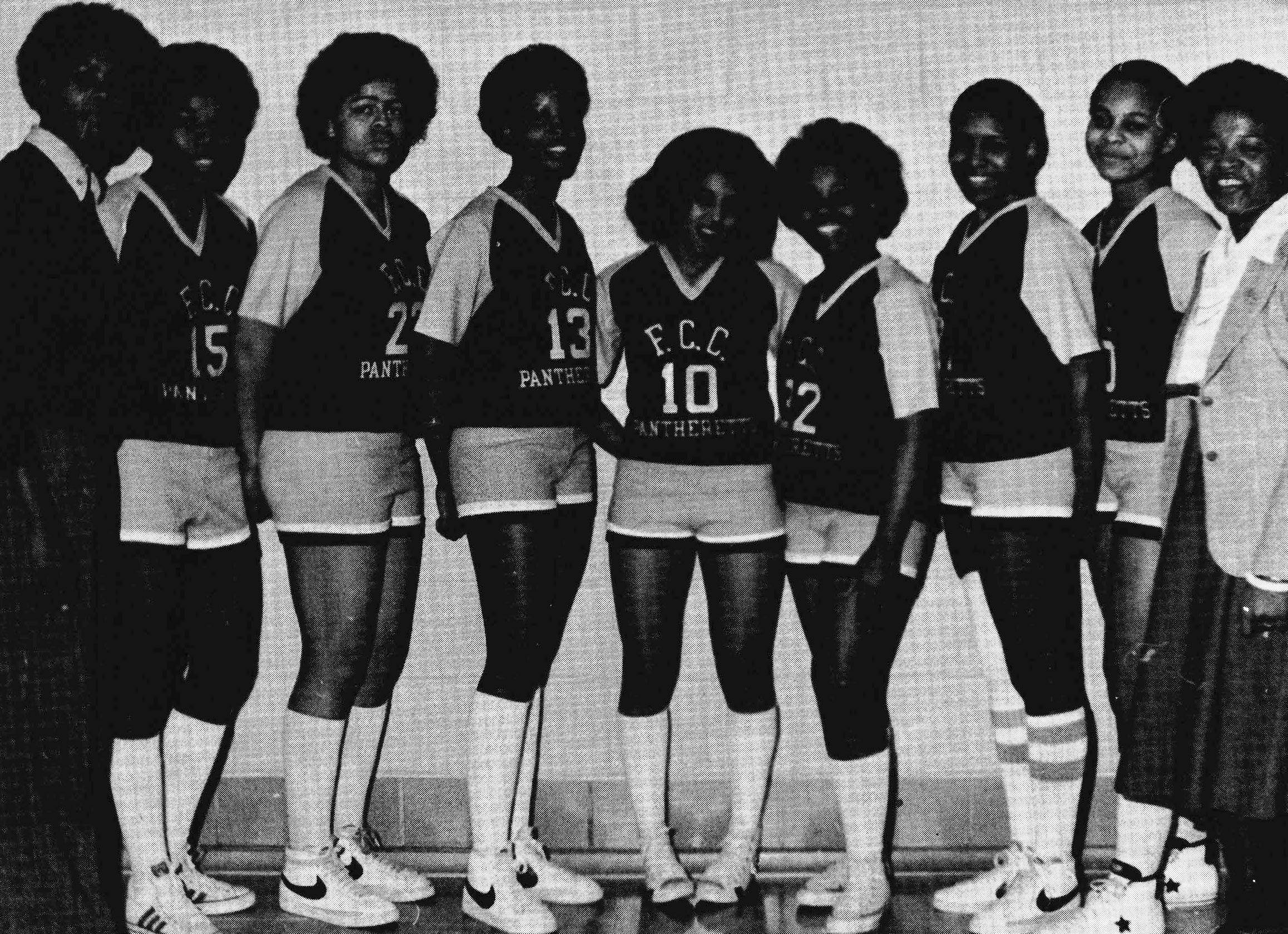 University of the District of Columbia -- Athletics -- Women's Basketball, 1978.