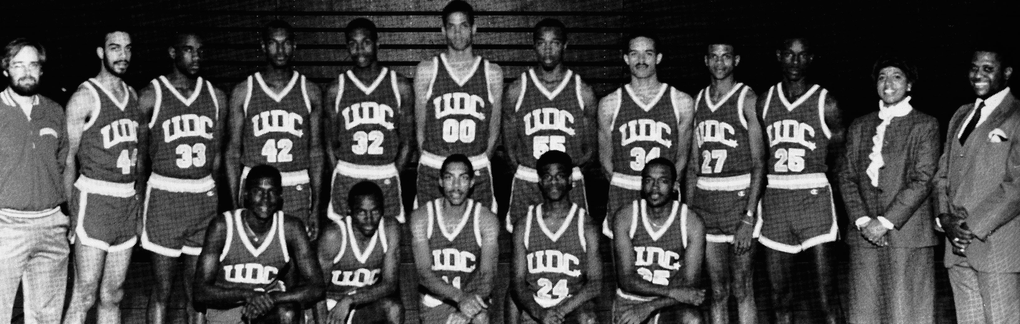 University of the District of Columbia -- Athletics -- UDC Men's Basketball Team, 1984-1985