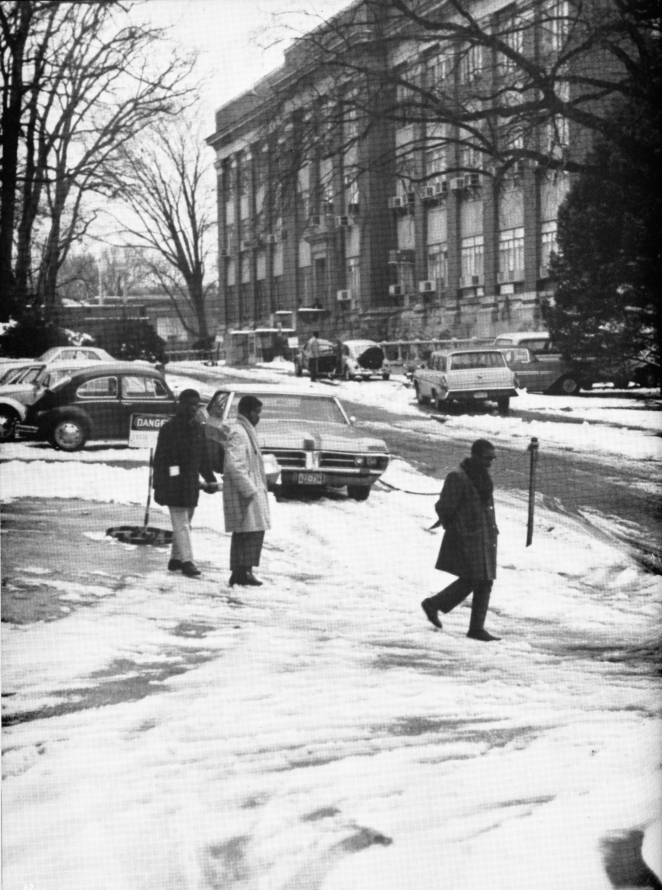 Washington Technical Institute -- National Bureau of Standards Site -- Winter Scene