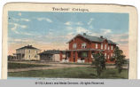 1883 Early Faculty and Student Housing (Post card view)