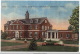 1940 Postcard view of Jones Dining Hall