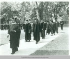 1969 Commencement - Faculty Procession