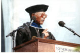 Nelson Mandela Giving the Commencement Address