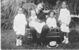 Booker T. Washington & His Grandchildren